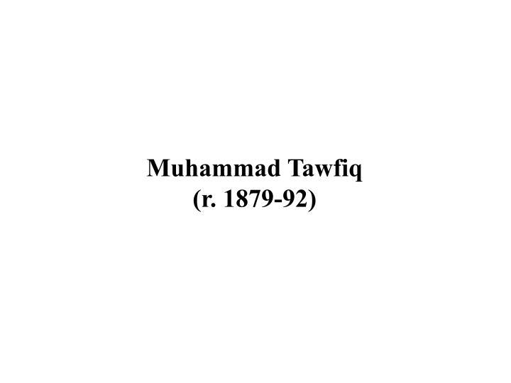 Muhammad Tawfiq