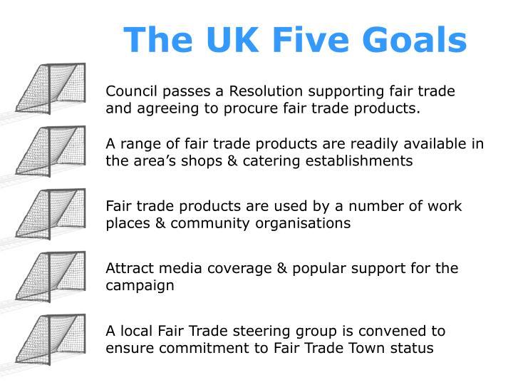 The UK Five Goals