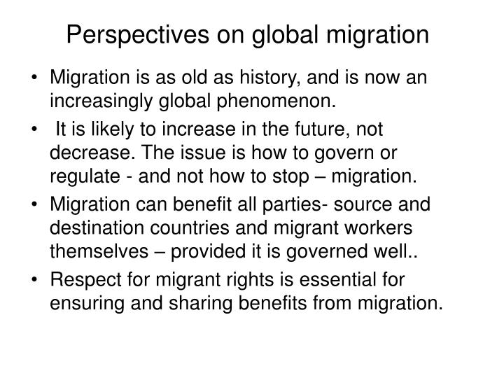 the benefits and problems of migration The real benefits of migration 'the supposed costs or benefits of immigration always omit one crucial group: but how real a problem is this brain drain.