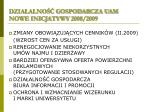 dzia alno gospodarcza uam nowe inicjatywy 2008 2009