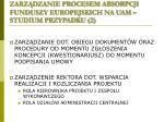 zarz dzanie procesem absorpcji funduszy europejskich na uam studium przypadku 2