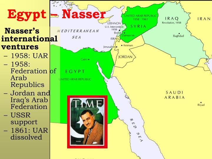 Egypt – Nasser