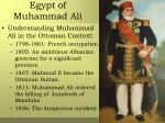 egypt of muhammad ali