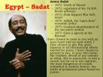 egypt sadat