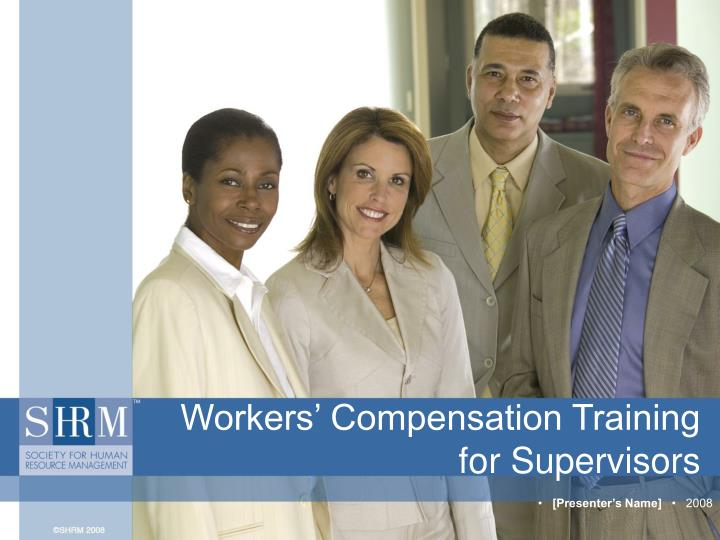 workers compensation training for supervisors n.