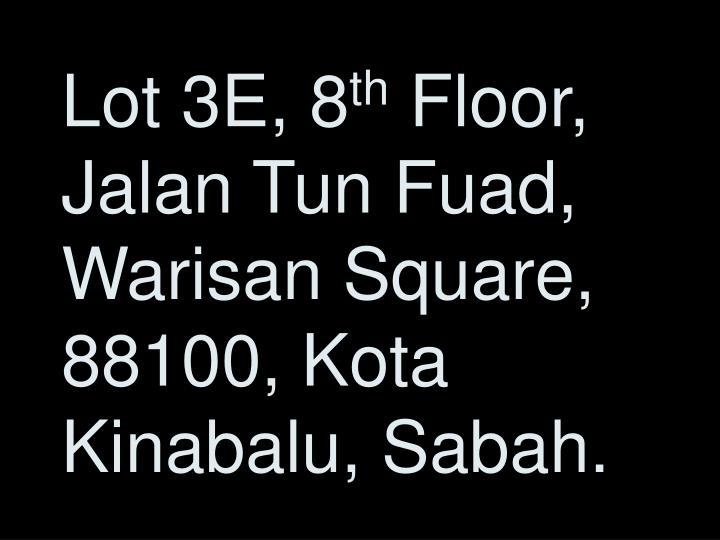 Lot 3E, 8