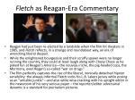 fletch as reagan era commentary
