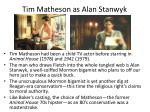 tim matheson as alan stanwyk