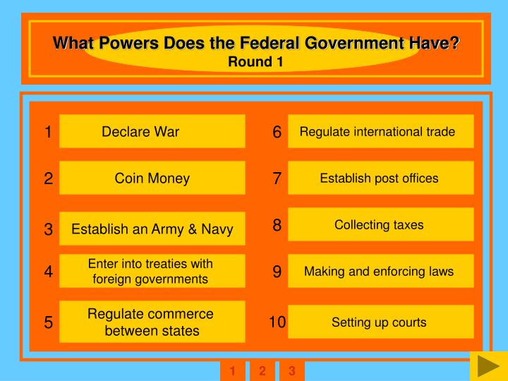 What Powers Does the Federal Government Have?