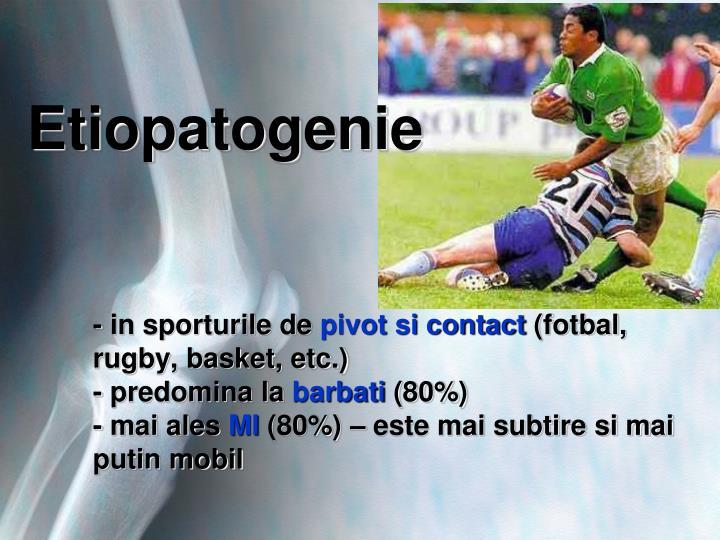 Etiopatogenie