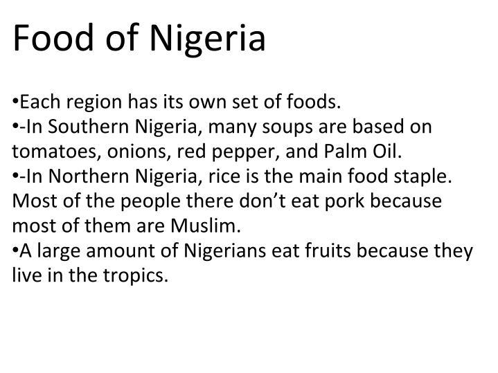 Food of Nigeria