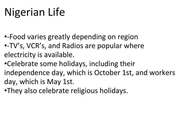 Nigerian Life