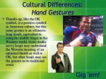 cultural differences hand gestures2