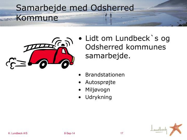 Samarbejde med Odsherred Kommune