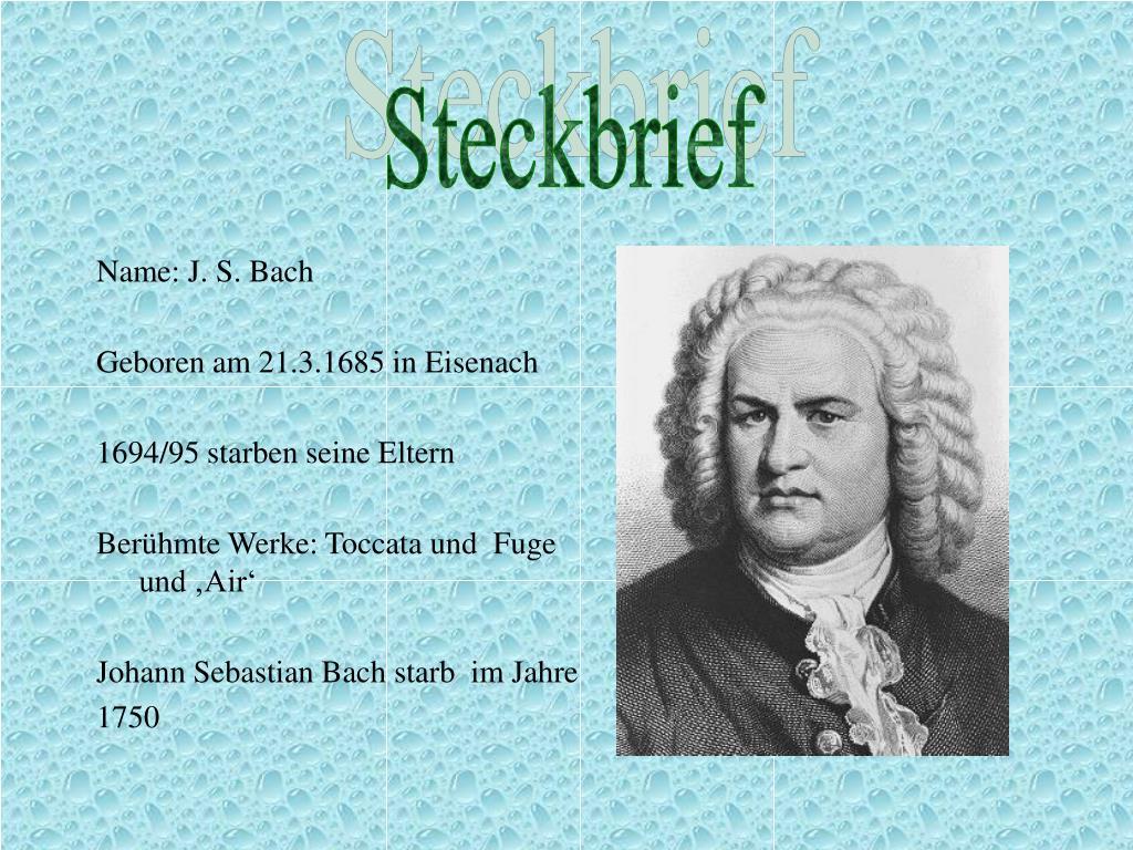 Www Bach De Leben 0