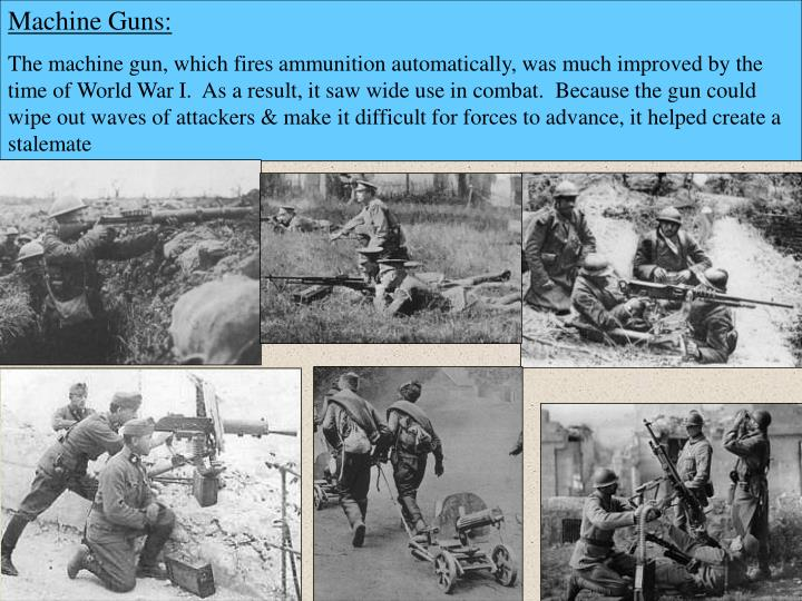 Machine Guns: