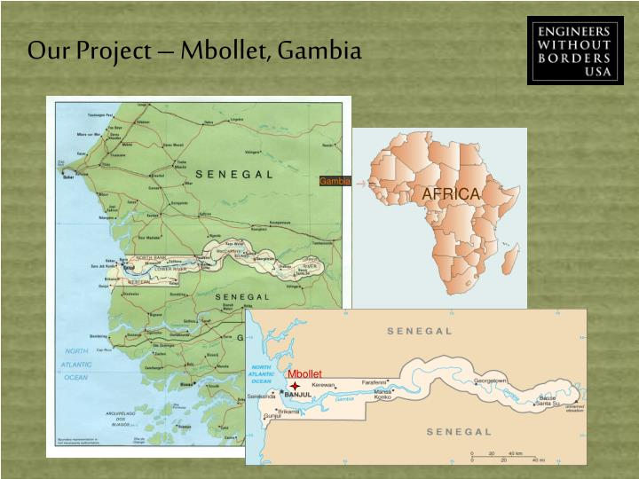 Our Project – Mbollet, Gambia