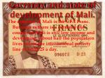 currency and state of development of mali