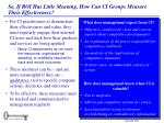 so if roi has little meaning how can ci groups measure their effectiveness