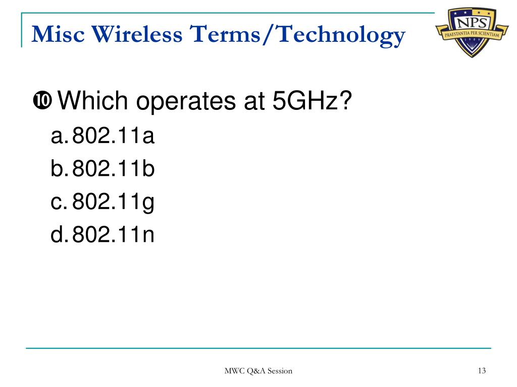PPT - Wireless (Security) Self-Test for fun PowerPoint Presentation