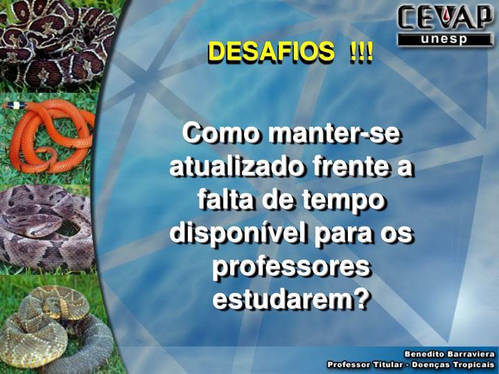 DESAFIOS  !!!