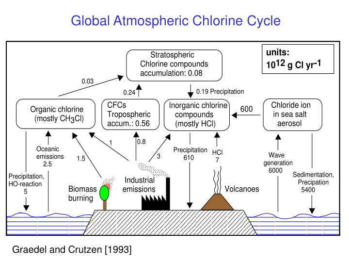 Global Atmospheric Chlorine Cycle