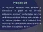 principio 10