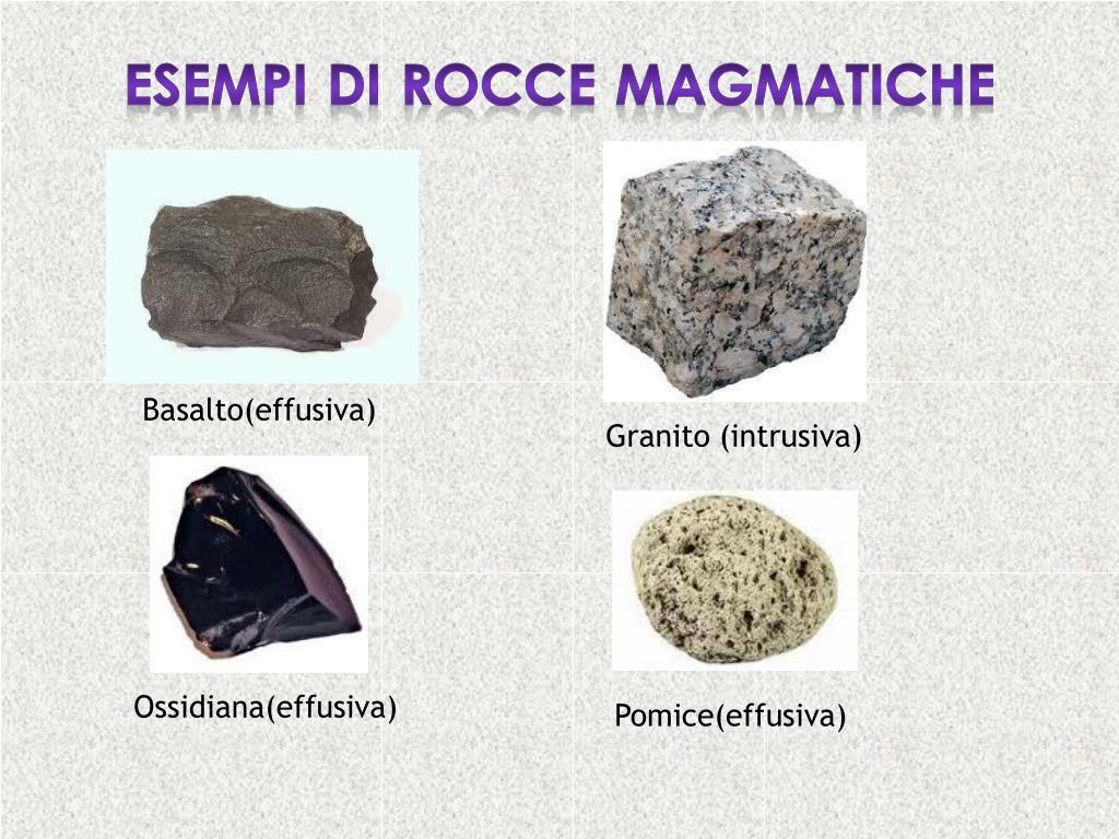 datazione radiometrica di rocce ignee