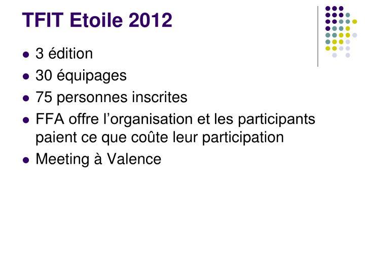 TFIT Etoile 2012
