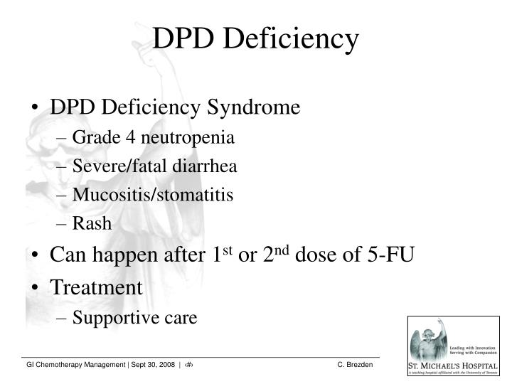 DPD Deficiency Syndrome