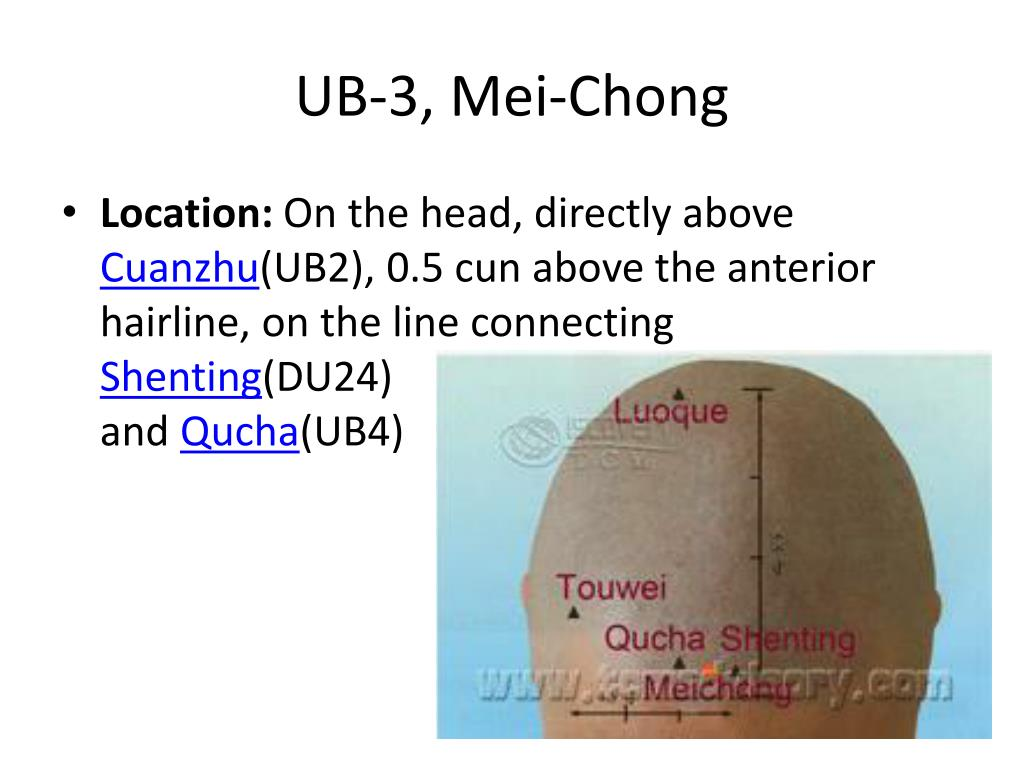 Ub 1 Acupuncture Point