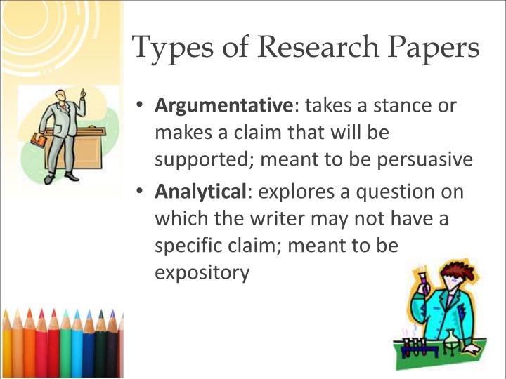 types of introductions for a research paper This is an introduction to research paper writing and prepares students with an overview of what to expect in college students will decide on a career to research.