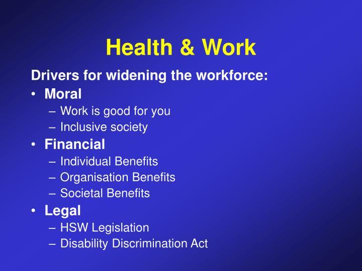 Health & Work