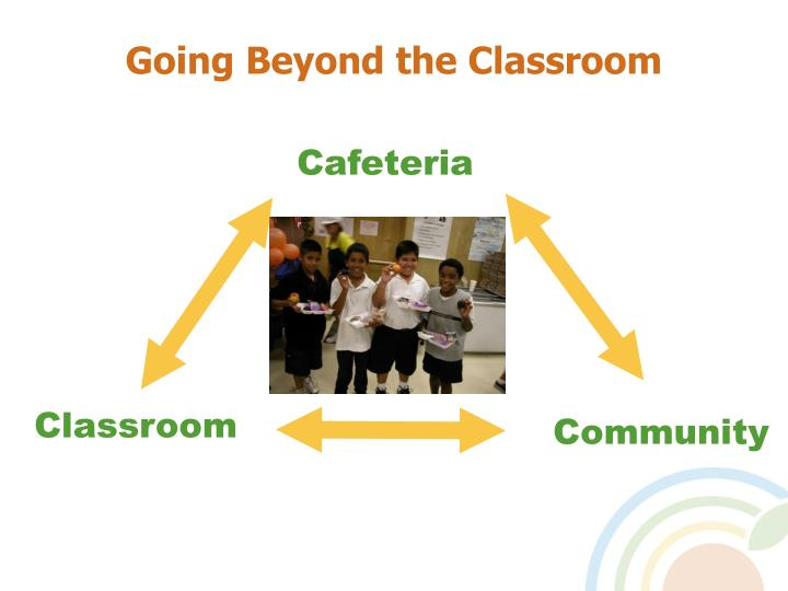 Going Beyond the Classroom