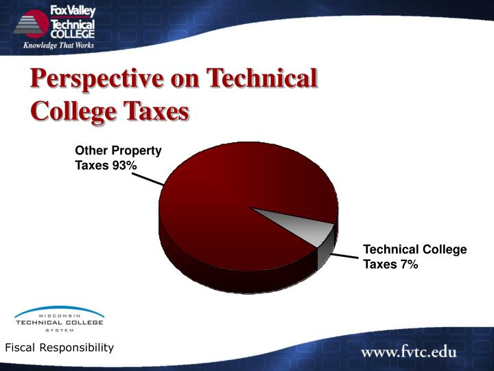 Perspective on Technical College Taxes