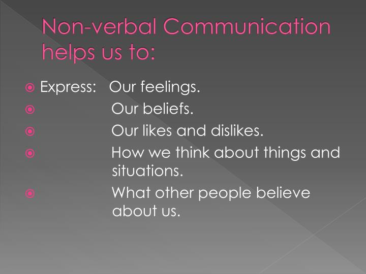 how does communication help us