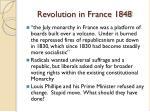 revolution in france 1848