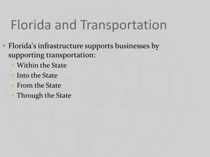 florida and transportation n.