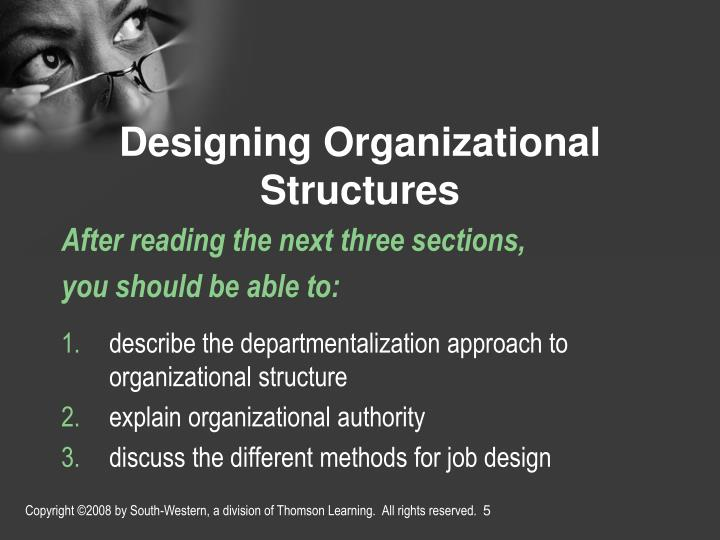 different approaches of departmentalization Types of organization types of departmentalization centralization and decentralization  individual executive cannot do justice to all different.