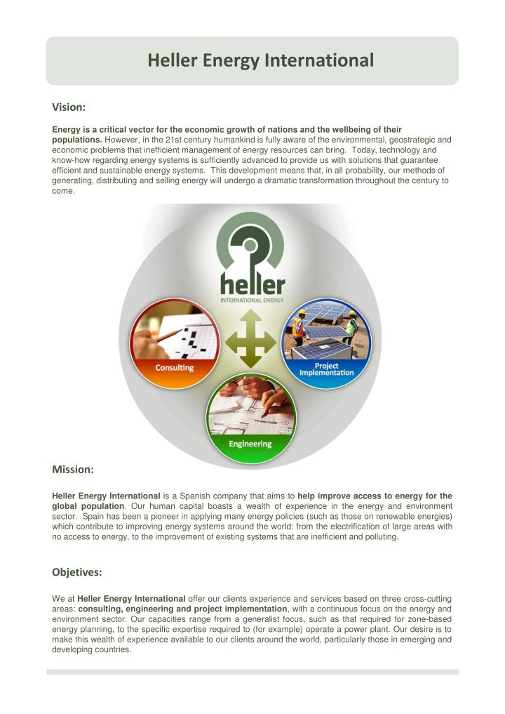 Heller Energy International