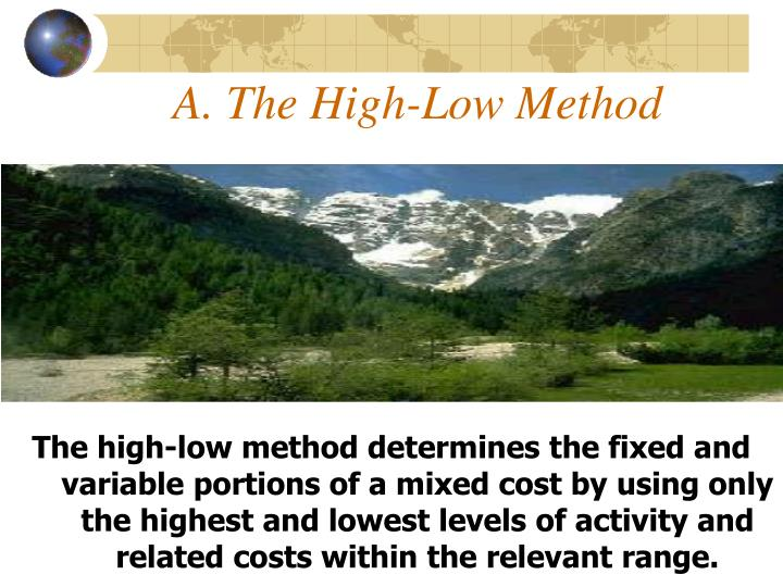 A. The High-Low Method