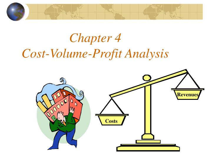 Chapter 4 cost volume profit analysis