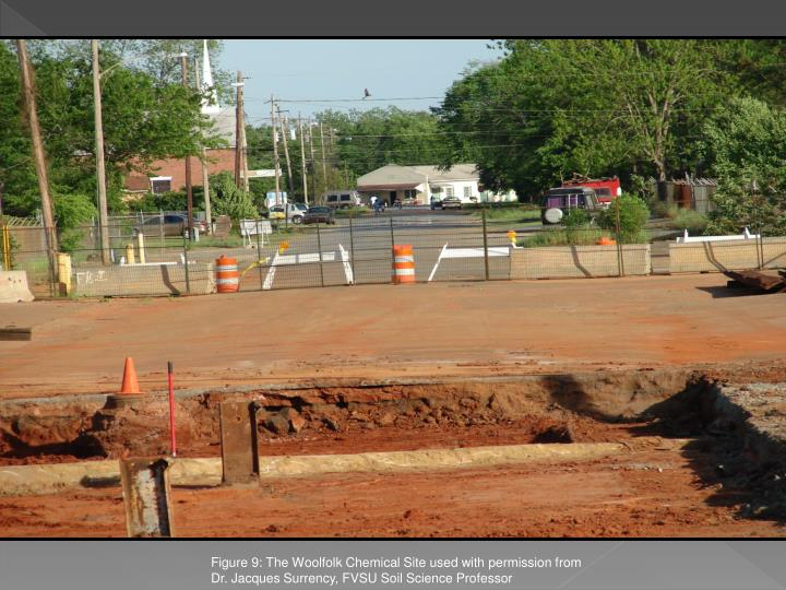 Figure 9: The Woolfolk Chemical Site used with permission from Dr. Jacques Surrency, FVSU Soil Science Professor