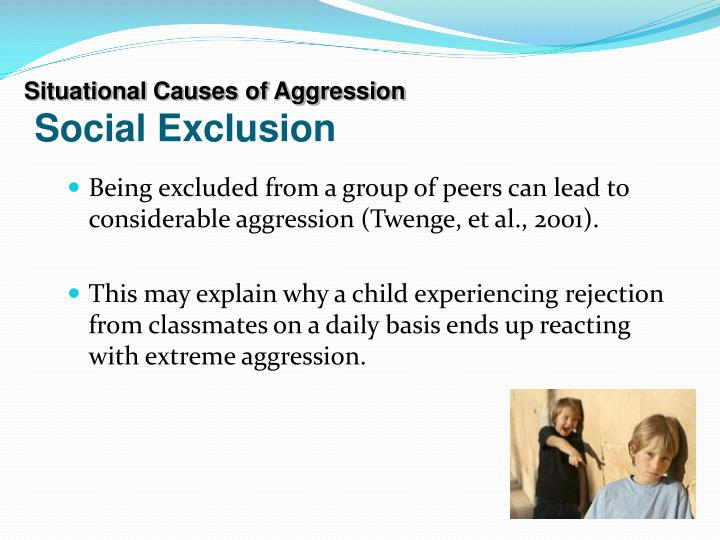 social causes of aggression