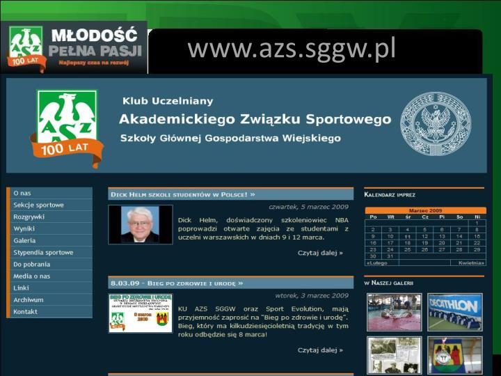 www.azs.sggw.pl