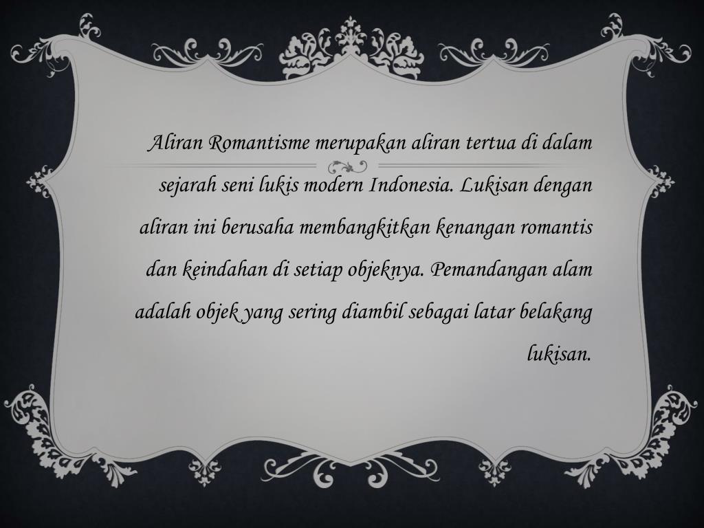 Ppt Aliran Seni Lukis Powerpoint Presentation Free Download