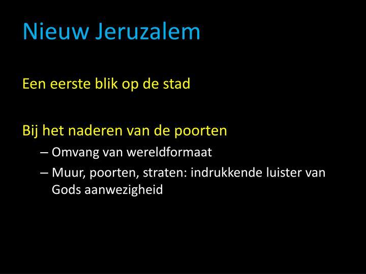 Nieuw Jeruzalem