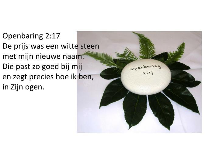 Openbaring 2:17