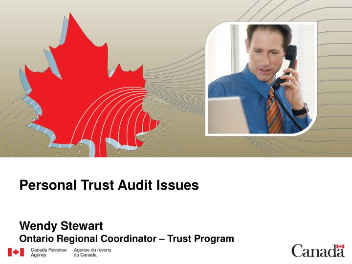Personal trust audit issues