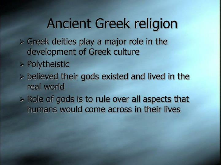 ancient greek deities and their human Gods, goddesses, and heroes and the father of countless deities and demigods of the greek pantheon their gods had many human qualities even though they were.